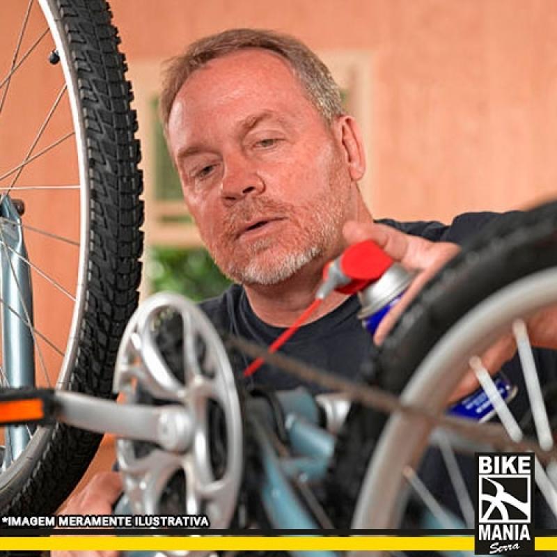 Lubrificação de Suspensão de Bicicleta Rio Pequeno - Lubrificação de Suspensão de Bike com Trava