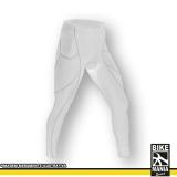 calça branca de lycra