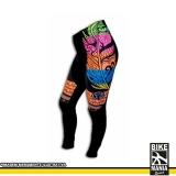 calça de lycra cintura alta para ciclista
