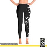 calça flare de lycra para ciclista