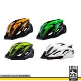 capacete para bike com luz Mooca