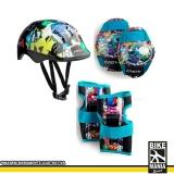 capacete para bike infantil melhor preço Pirambóia