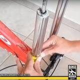 lubrificação de suspensão bicicleta dianteira Ribeirão Pires