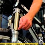 lubrificação de suspensão de bicicletas invertida Parque do Carmo