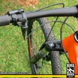 lubrificação de suspensão de bike com trava no guidão preço Franca