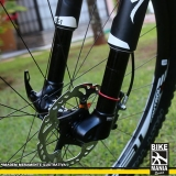 lubrificação de suspensão de bicicleta com trava