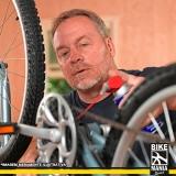 lubrificação de suspensão de bicicleta invertida