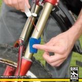 lubrificação de suspensão de bike com trava