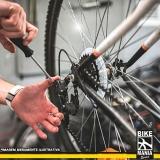 manutenção amortecedor bicicleta preço Anália Franco