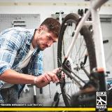 manutenção amortecedor bicicletas Pompéia