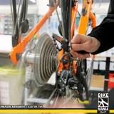 manutenção bicicleta freio disco