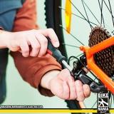 manutenção marcha bicicleta Pedreira