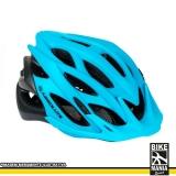 onde encontro capacete para bike com luz Guararema