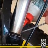 onde tem lubrificação de suspensão de bicicleta com trava Ribeirão Pires
