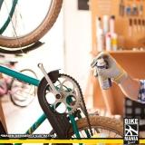 onde tem lubrificação de suspensão de bicicleta Campinas