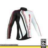 roupa para ciclismo manga longa